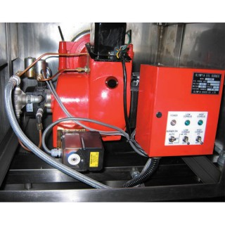 SB-460 Cooking Mixer, SUS#304 Body, Pan, w/Diesel Burner [D-3]