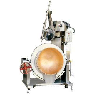 Kom roterende kookmixer SC-400 wordt geleverd met roestvrijstalen behuizing. [EEN]