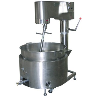 SB-410 Kookmixer, SUS#304 Body, SUS#304 Single Layer Bowl, Gas Verwarming [A]