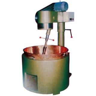 SB-410 kookmixer, gelakte behuizing, koperen kom, gasverwarming [B]