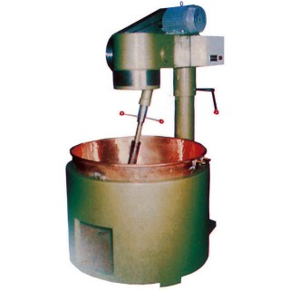 SB-410 Cooking Mixer, Painted Body, Copper Bowl, Gas Heating [B]