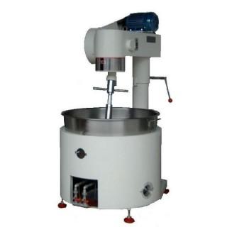 SB-410 Pişirme Mikseri, Boyalı Gövde, SUS#304 Tek Katlı Hazne, Gazlı Isıtma [C]