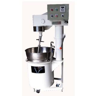 SB-410 Pişirme Mikseri, Boyalı Gövde, SUS#304 Çift Cidarlı Yağ Haznesi, Elekt. Isıtma [E]