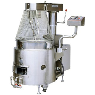 SC-410 Cooking Mixer, SUS # 304 Body, SUS # 304 Scodella Single Layer, Riscaldamento a gas, w / Safety Guard [B-1]