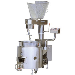 SC-410 Cooking Mixer, SUS#304 Body, SUS#304 Single Layer Bowl, Gas Heating, w/Safety Guard [B-2]