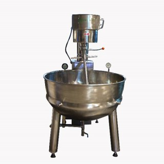SC-410加热搅拌机, SUS#304型, SUS#304双层蒸气锅, 蒸气加热[C]