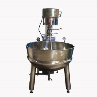 SC-410 Pişirme Mikseri, SUS#304 Gövde, SUS#304 Çift Ceketli Hazne, Buharlı Isıtma [C]
