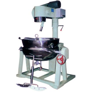 SB-408 Cooking Mixer, Painted Body, SUS#304 Double Steam Jacket Bowl, Steam Heating