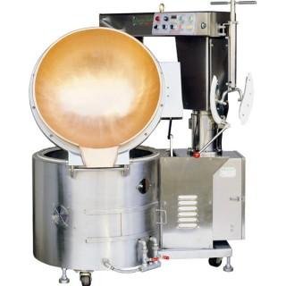 SC-410B Cooking Mixer, SUS#304 Body, Copper Bowl, Auto Tilting, Gas Heating [B-2]