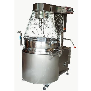 SC-410B Cooking Mixer, SUS#304 Body, SUS#304 Double Jacket Bowl, Auto Tilting, Gas Heating, W/Safety Guard CE [D]