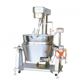 SC-420A Cooking Mixer, SUS#304 Body, Double Jacket Oil Bowl, Gas Heating