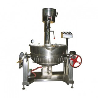 SC-420A Cooking Mixer, SUS#304 Body, Double Jacket Oil Bowl,Steam Heating