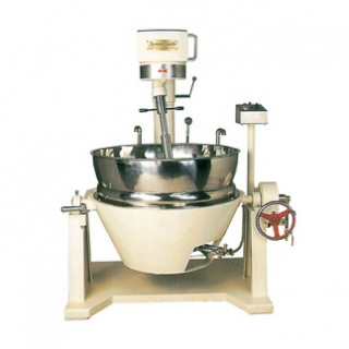 SC-420A Cooking Mixer, Painted Body, Double Jacket Oil Bowl, Gas Heating