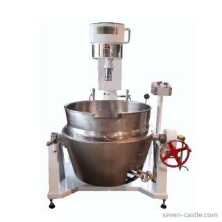 SC-420Aボディペイント&ステンレス鋼タイプ、ガス加熱、ダブルパン