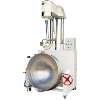 SB-450 Cooking Mixer, Painted Body, SUS#304 Double Jacket Steam Bowl, Steam Heating