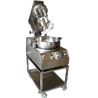 SC-120Z-IH Table Cooking Mixer(Head Up), w/ wheel stand  [A-3]