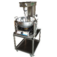 SC-120 Table Cooking Mixer, SUS bowl, w/ wheel stand [A-2]