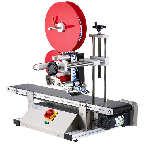 Tabletop labeling machine