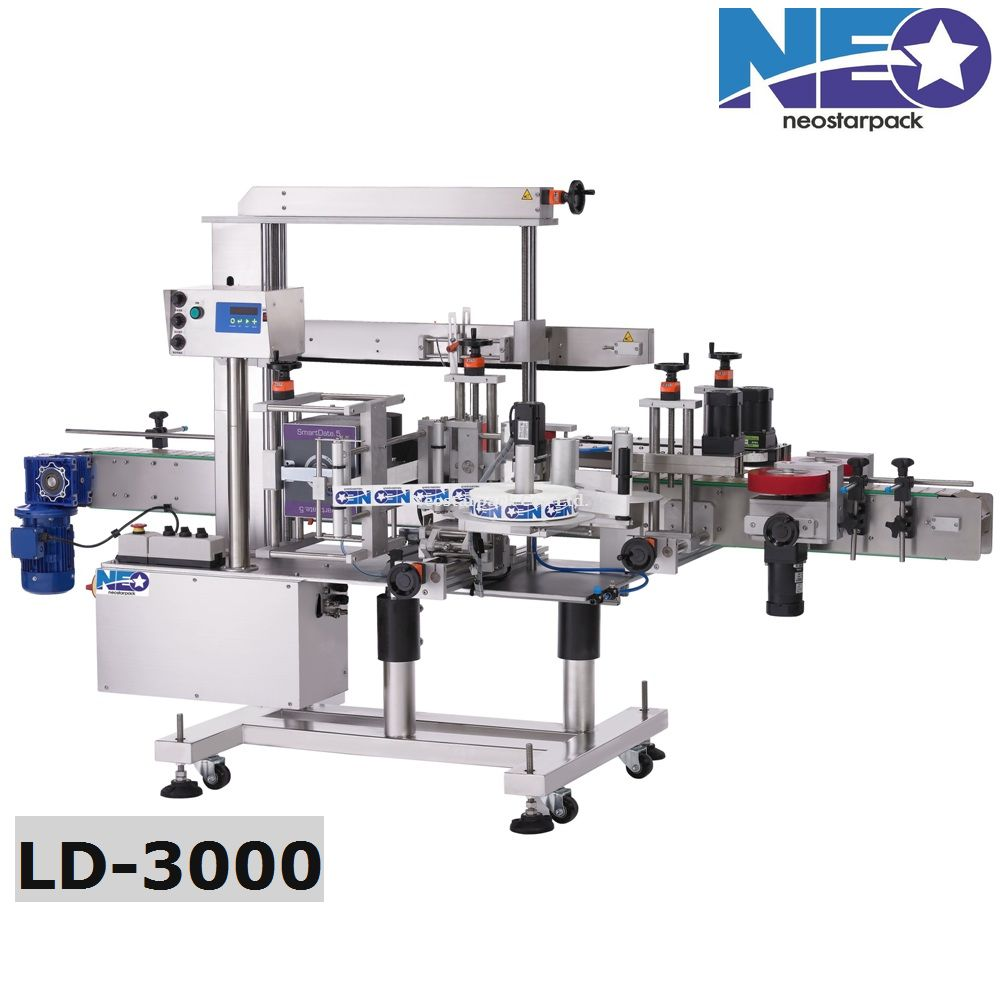front and back labeling machine,double-sided labeler,Two-side labeler
