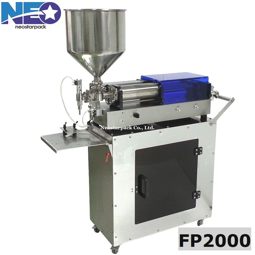 high viscosity fluid filling machine