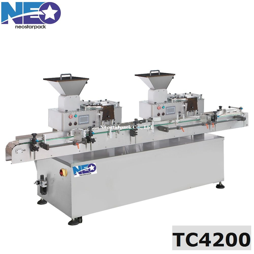 tablet capsule counting and filling machine,pharmaceutica tablet counter