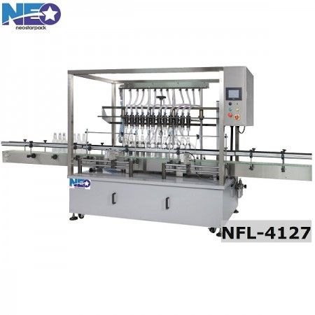 Overflow liquid filling machine