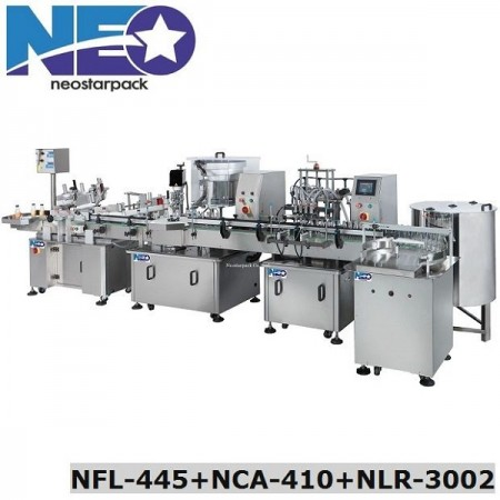 Automatic Liquid Filling Line