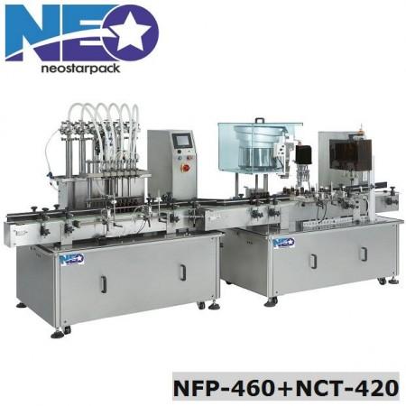 Liquid filling-ROPP aluminum capping production line