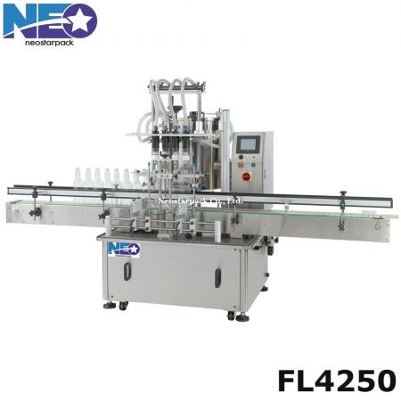 4 nozzle overflow filling machine