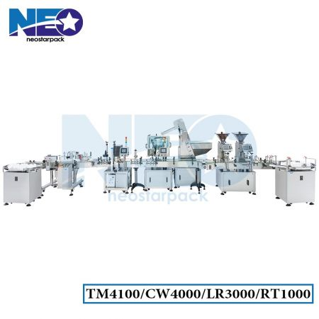Bottle Capsule Counting Machine Line