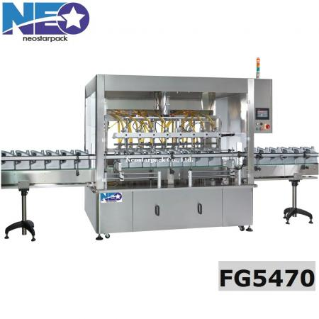 Automatic gear pump liquid filling machine