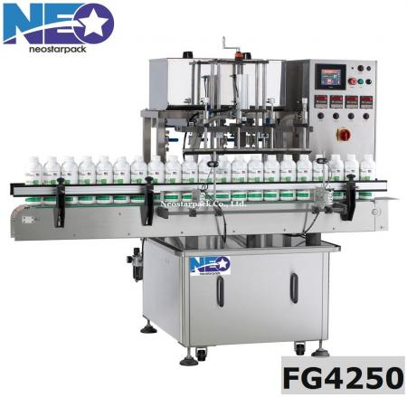 automatic gear pump lquid filling machine