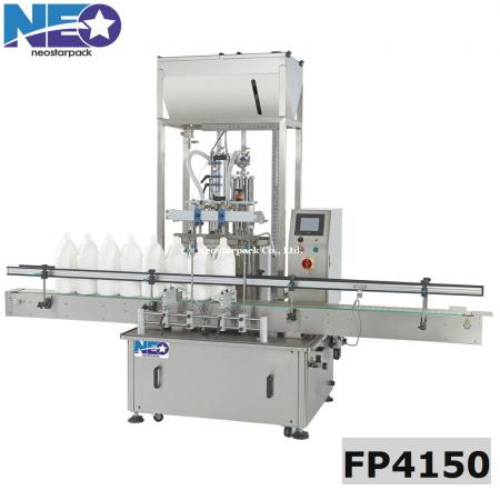 two nozzles piston filler,liquid detergent filling machine