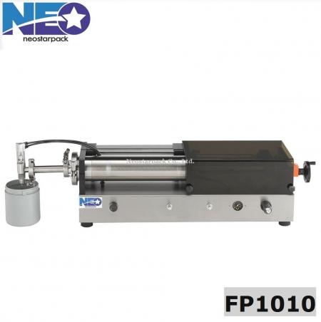 big volume tabletop piston pump liquid filling machine