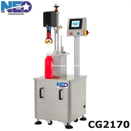 Cap Tightener Machine (Machine de capsulage Retorquer Servo)