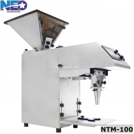 Tablet counting machine output chute