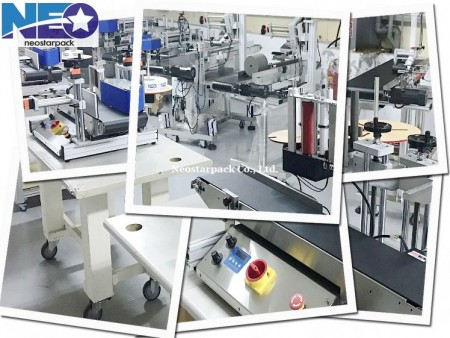 desktop tabletop labeling machines