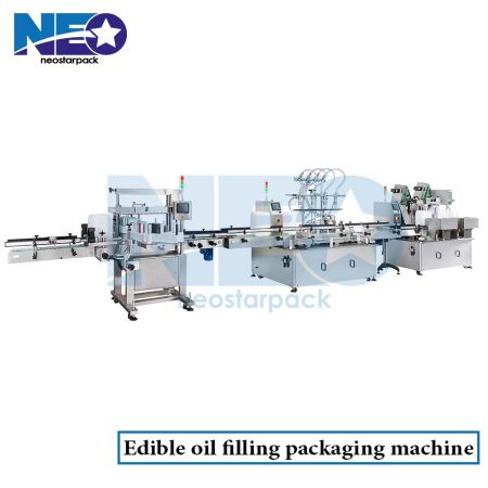 Edible oil Filling Packaging machine