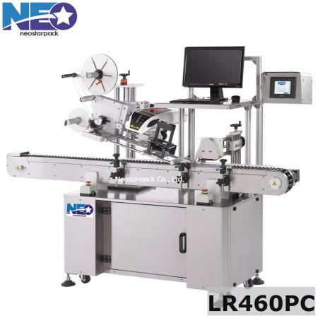 Horizontal Vial Labeler with Laser Printer