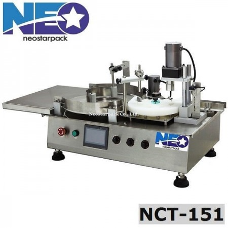 tabletop filling capping machine