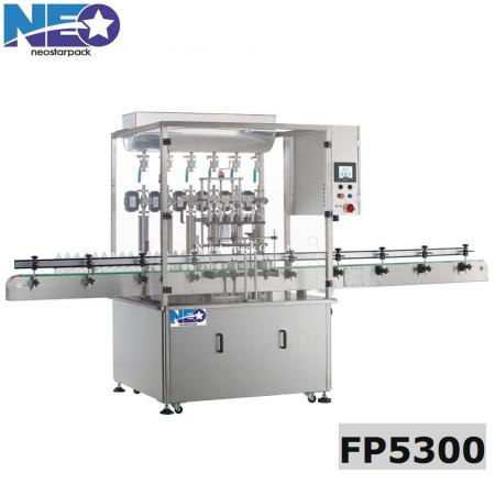 Automatic Piston Liquid Filler with Safety Cover