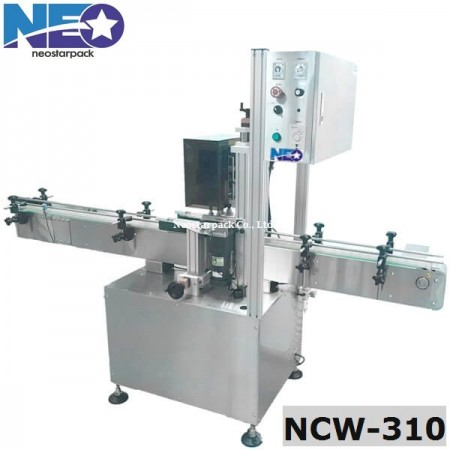 pneumatically driven capping machine