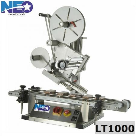 Tabletop top labeler