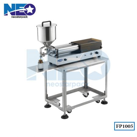 Tabletop Piston Pump Liquid Filling Machine