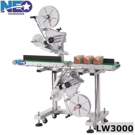 salad box double sided labeler