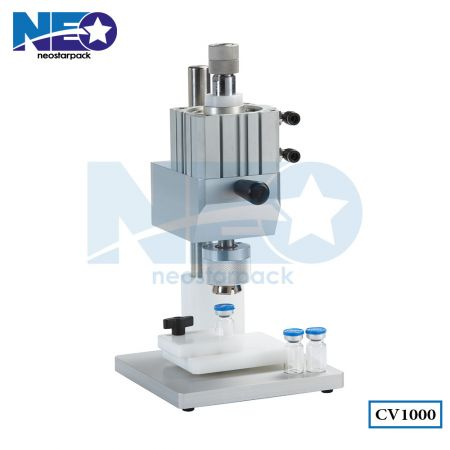Tabletop Vial Crimping Machine