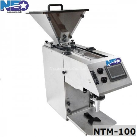 Vibrating tablet counting machine
