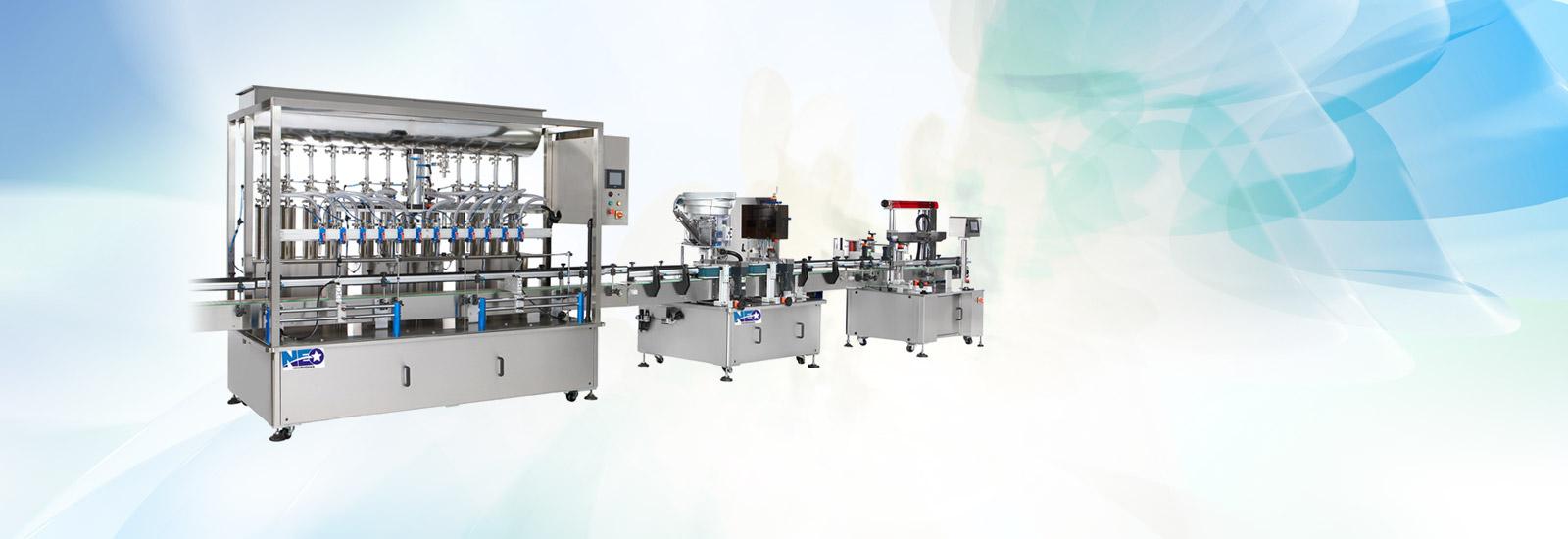 Mesin Pembungkusan Pengilang Filler Capper Line