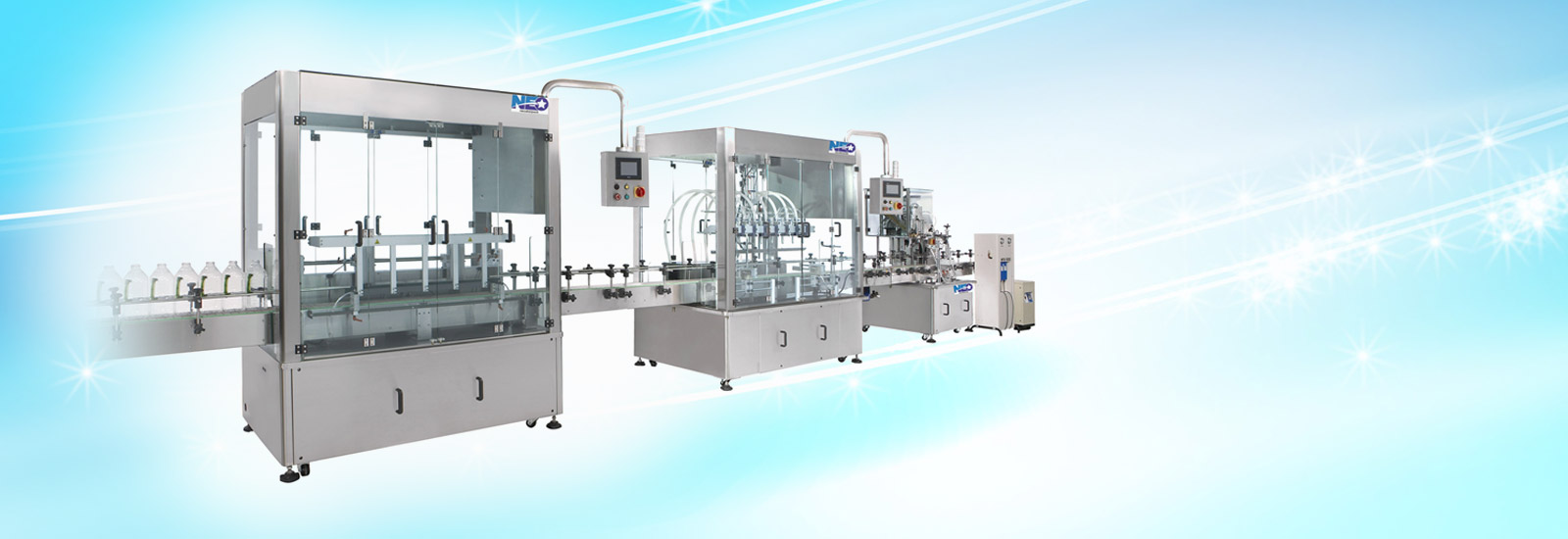Fully Automatic Filling Line