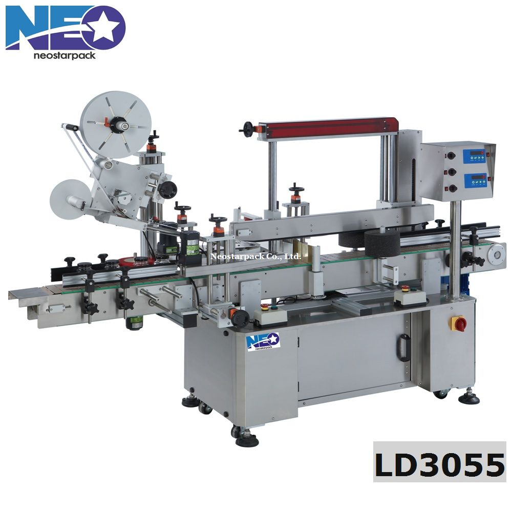 Three Side Labeling and Top Labeling (four sides labeling machine)